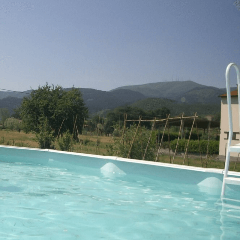 B&B Lucca swimming pool