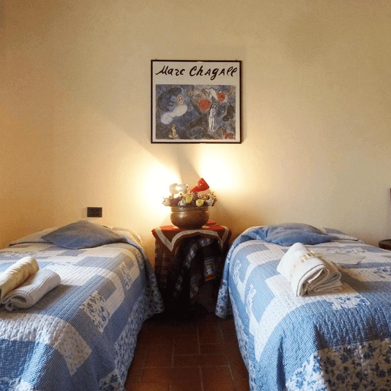 camera ad est due letti affitto