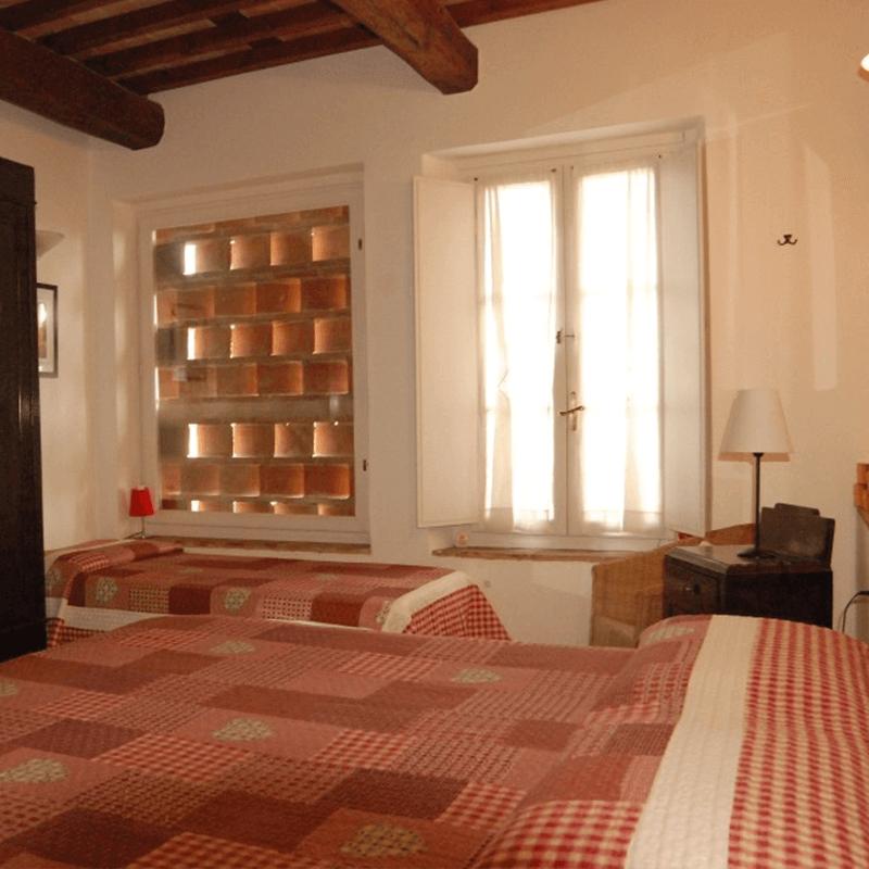 Appartamento rosso camera